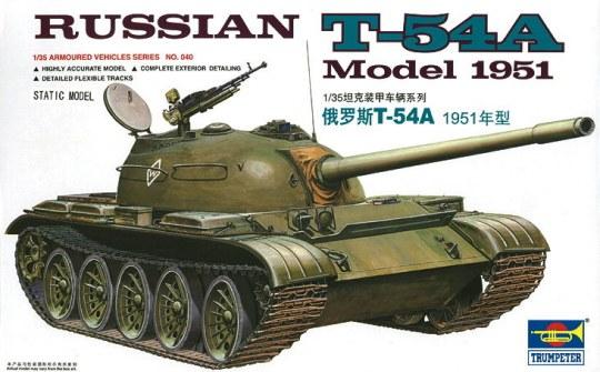 Trumpeter - Russischer Panzer T-54A