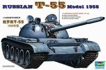 Trumpeter - Russischer Panzer T-55A von 1958
