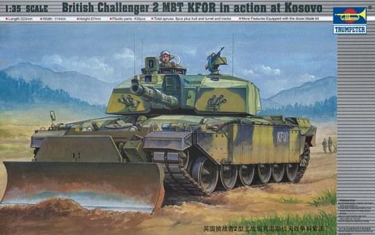 Trumpeter - Challenger II KFOR (Kosovo-Einsatz)