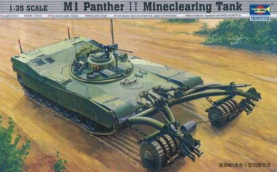 Trumpeter - M1 Panther II Minenräumer