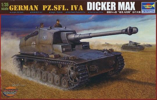 Trumpeter - German Pz.Sfl. IVa Dicker Max