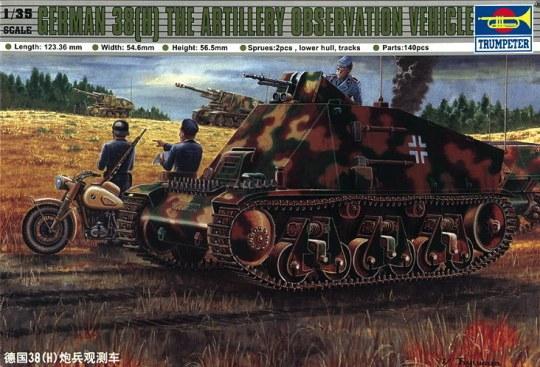Trumpeter - PzKpfw 38(H) Funk- u. Befehlswagen