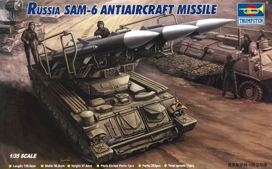 Trumpeter - Russian SAM-6 Antiaircraft Missile