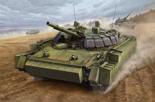 Trumpeter - BMP-3 w/ERA tiles