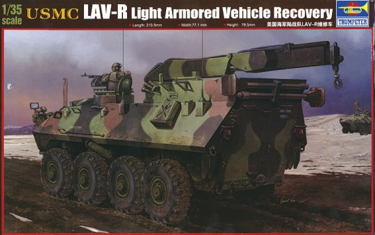 Trumpeter - USMC LAV-R Light Armored Veh.Recovery