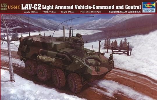 Trumpeter - USMC LAV-C2 Command & Control Vehicle