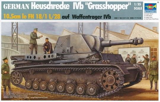 Trumpeter - Heuschrecke Ivb Grasshopper