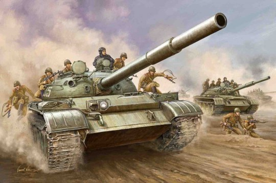 Trumpeter - T-62 Main Battle Tank Mod. 1962