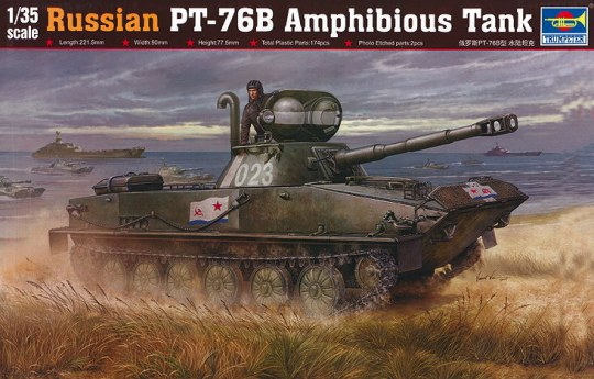Trumpeter - Russian PT-76B