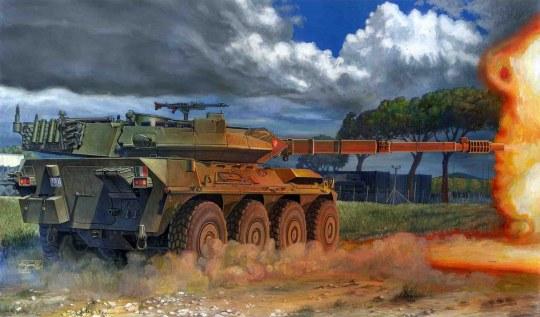 Trumpeter - Italian B1 Centauro Tank Destroyer