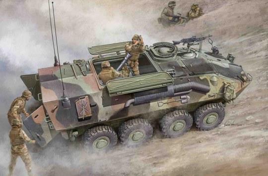 Trumpeter - LAV-M (Mortar Carrier Vehicle)