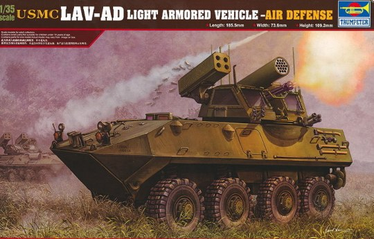 Trumpeter - USMC LAV-AD Air Defense