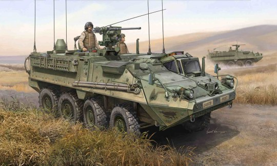 Trumpeter - M1130 Stryker Command Vehicle