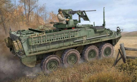 Trumpeter - United State Army M1131 Stryker FSV