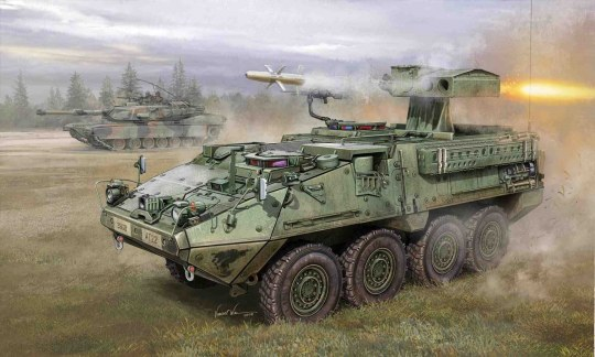 Trumpeter - M1134 Stryker Anti Tank Guided Missile (ATGN)