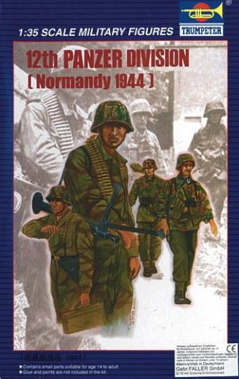 Trumpeter - 12. Panzerdivision Normandie 1944