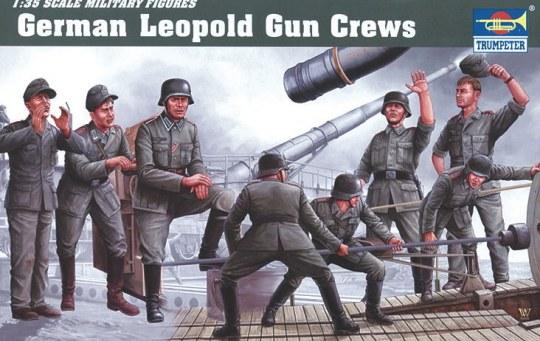 Trumpeter - Deutsche Artillerie Besatzung für Leopold