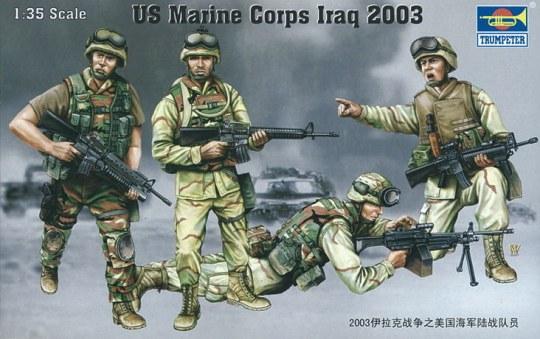 Trumpeter - US Marine Corps Irak 2003