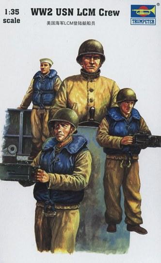 Trumpeter - US Navy LCM Besatzung