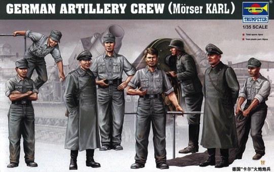 Trumpeter - Deutsche Artillerie Besatzung für Mörser Karl
