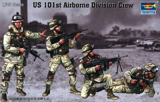 Trumpeter - US 101st Airborne Division Crew