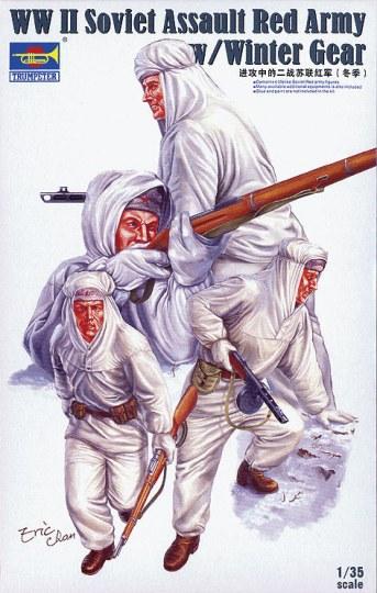 Trumpeter - Soviet Assault Red Army w/Winter Gear
