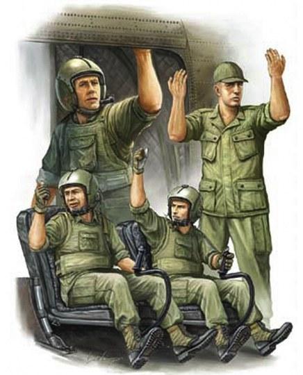 Trumpeter - US Army CH-47 Crew in Vietnam