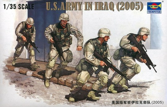 Trumpeter - U.S. Army in Iraq (2005)