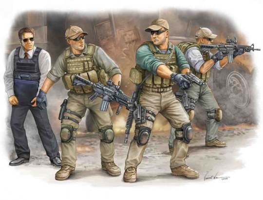Trumpeter - PMC in Iraq - VIP Protection