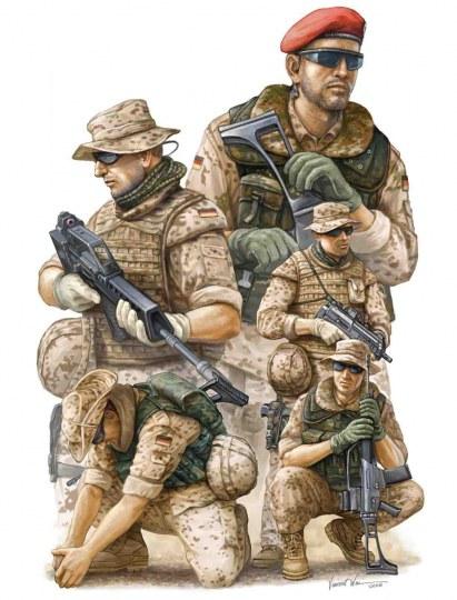 Trumpeter - Modern German ISAF Soldiers in Afghanist