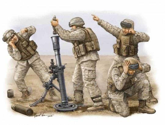 Trumpeter - Modern U.S. Marine M252 Team