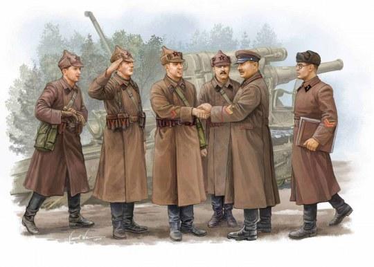 Trumpeter - Soviet Artillery - Commander Inspection