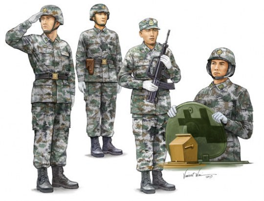 Trumpeter - PLA Tank Crew