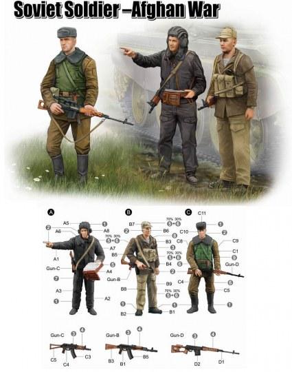 Trumpeter - Soviet Soldier-Afghan War