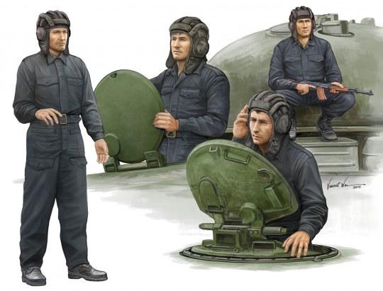 Trumpeter - Soviet Tank Crew