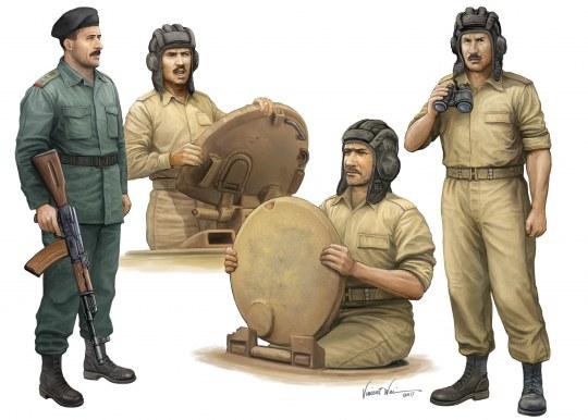 Trumpeter - Iraqi Tank Crew