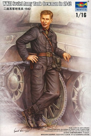 Trumpeter - WWII Soviet Army Tank Crewman 1942