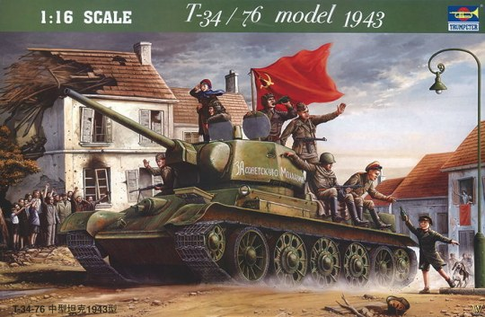 Trumpeter - T-34/76 1943