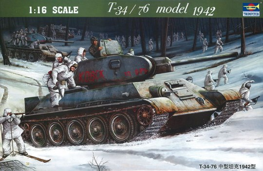 Trumpeter - T-34/76 Soviet Tank (1942)