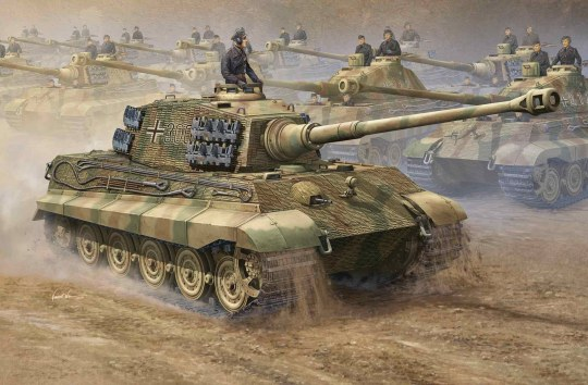 Trumpeter - German King Tiger 2 in 1