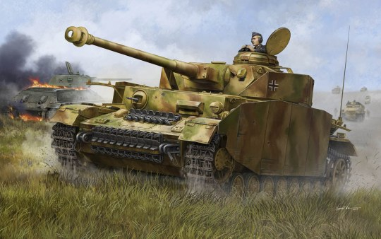Trumpeter - German Pzkpfw IV Ausf.H Medium Tank