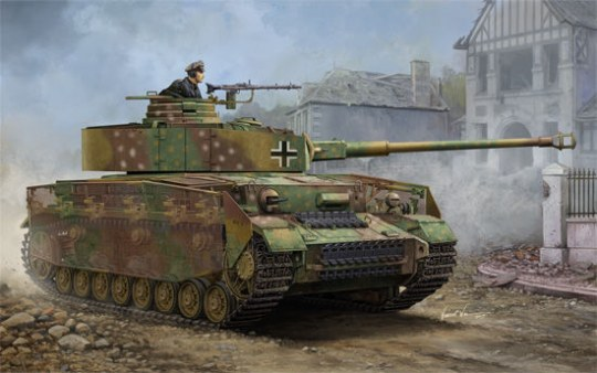 Trumpeter - German Pzkpfw IV Ausf.J Medium Tank