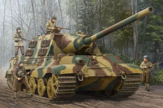 Trumpeter - German Sd.Kfz.186 Jagdtiger...
