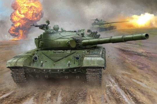Trumpeter - Russian T-72B MBT