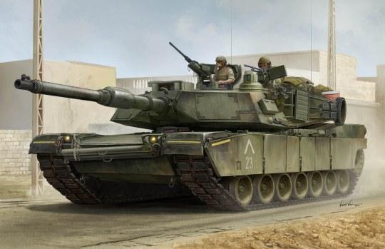 Trumpeter - US M1A1 AIM MBT