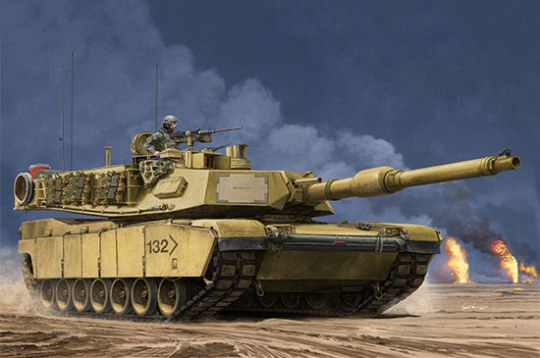 Trumpeter - US M1A2 SEP MBT