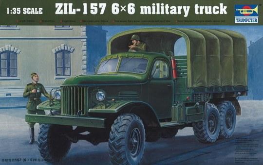 Trumpeter - ZIL-157 6x6 Soviet Military Truck