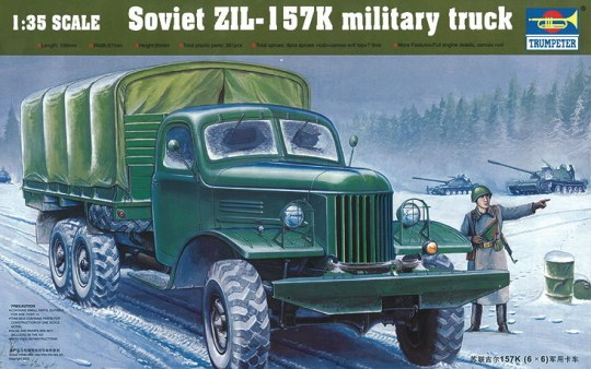 Trumpeter - ZIL-157K Soviet Military Truck w/Canvas