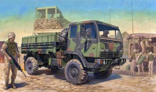 Trumpeter - M1078 LMTV Standard Cargo Truck