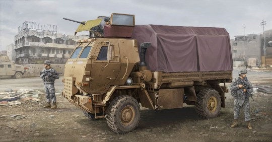 Trumpeter - M1078 LMTV (Armor CAB)